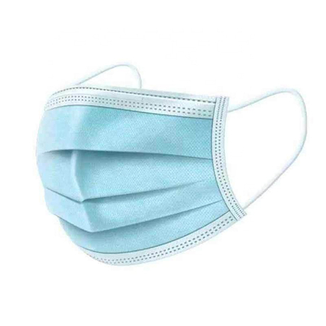 2020 hot sale CE approved 3 LAY Medical blue nonwoven mask disposable protective mask