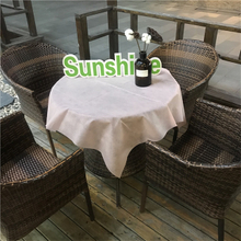 Disposable Tablecloth Hotel Restaurant Non Woven TNT Fabric Pp Spunbond Non Woven Fabric Table Cover