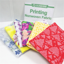 Printed Non Woven Fabric PP Spunbond Print Nonwoven Roll Non-woven Fabric with Printing