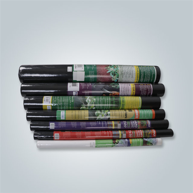 White black agriculture weed control mat 100%pp spunbond nonwoven fabric exporter