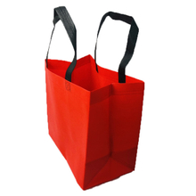 2021 New Design Red Black Pp Non Woven Fabric for Shopping Bags Supplier