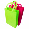 Disposable colorful non woven handle bag manufacturer