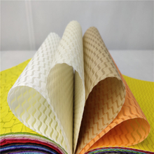 New design High Quality Colorful Embossed Nonwoven Fabric for Flower And Gift Packing