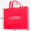 2021 New Design Colorful Handle Bag Pp Non Woven Fabric for Shopping Bags