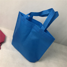 Durable Nonwoven Handle Bag PP Spunbond Non Woven Shopping Bag