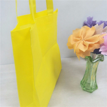 Any size pp nonwoven fabric supermarket handle non woven bag