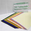 2019 Environmental Disposable Waterproof TNT Non Woven Fabric Pre-cut Tablecloth