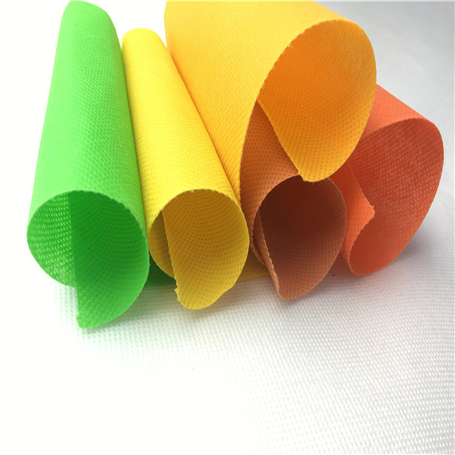 Hot Sale New Factory Colorful Polypropylene Spun-bonded Non-woven Fabric