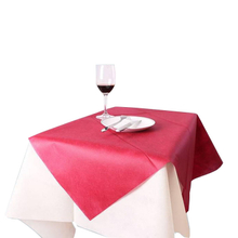 Waterproof tablecloth fabric Spunbond nonwoven fabric colorful Biodegradable fabric