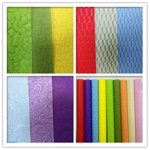 100%pp spunbond nonwoven fabric embossed/printed fabric for gift/flower package