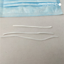 Disposable civil protective mask nose wire white
