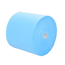 25g blue and white S/SS Medical Polypropylene Spunbonded Nonwoven Fabric Rolls for Protective suit