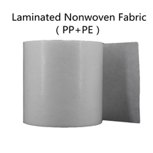 Laminated fabric PP Spunbond nonwoven+ pe film fabric Two-layer composite non-woven fabric